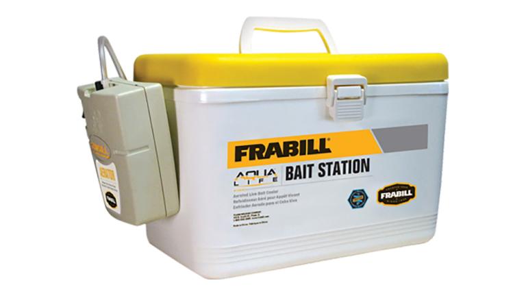 Frabill Bait Box W/Aerator