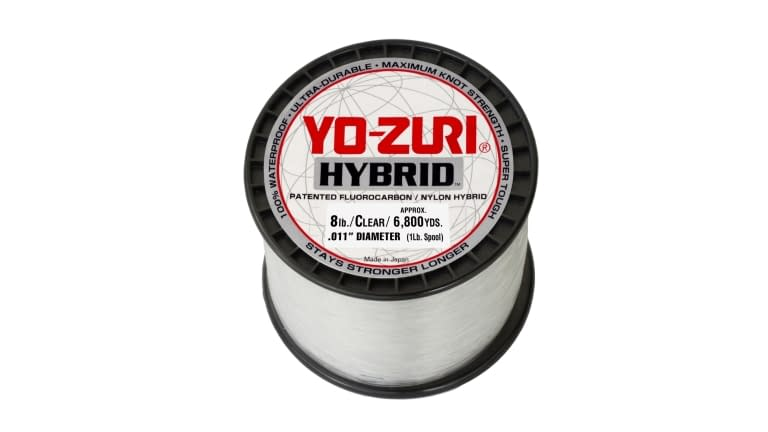 Yo-Zuri Hybrid 1lb Spool - 8HB 1PCL