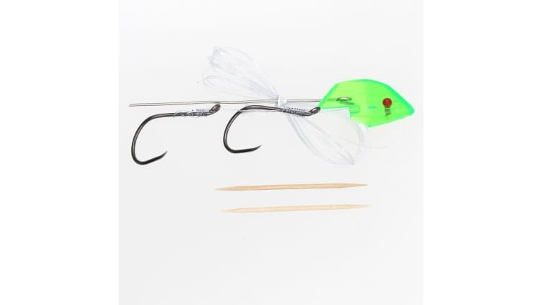 Trinidad Anchovy Heads - Rigged - #6173-GREEN