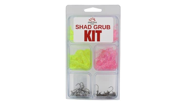 Anglers King Shad Grub Kit - AK-SHADKIT