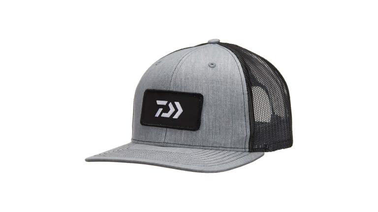 Daiwa D-VEC Trucker Hats - DVEC-E-GRY/BLK
