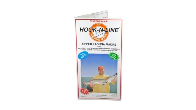 Hook-N-Line Waterproof Map