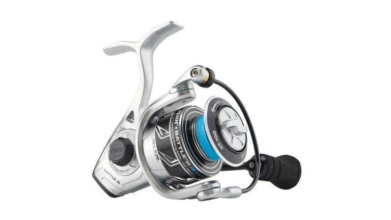 Penn Battle III DX Spinning Reels - BTLIII2500DX