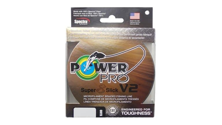 Power Pro Super Slick V2 150yd Spools - 31500100150E