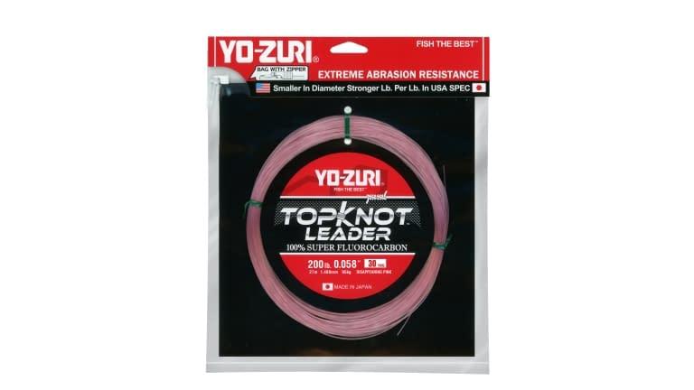 Yo-Zuri Top Knot Leader 30yd - TKLD200LBDP30YD