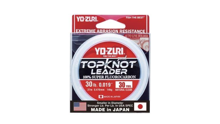 Yo-Zuri Top Knot Leader 30yd - TKLD30LBNCL30YD