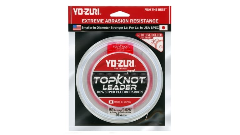 Yo-Zuri Top Knot Leader 30yd - TKLD50LBDP30YD