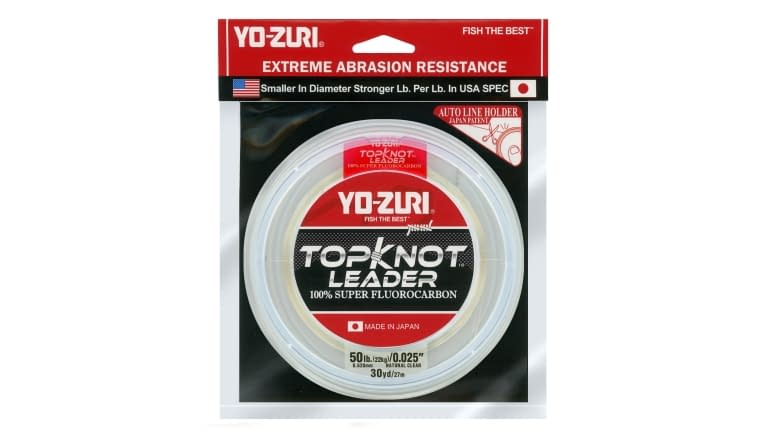 Yo-Zuri Top Knot Leader 30yd - TKLD50LBNCL30YD