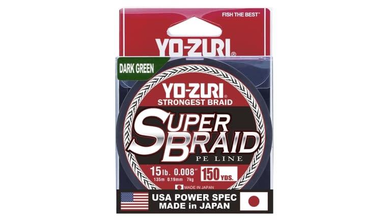 Yo-Zuri Superbraid 150yd - SB15LBDG150